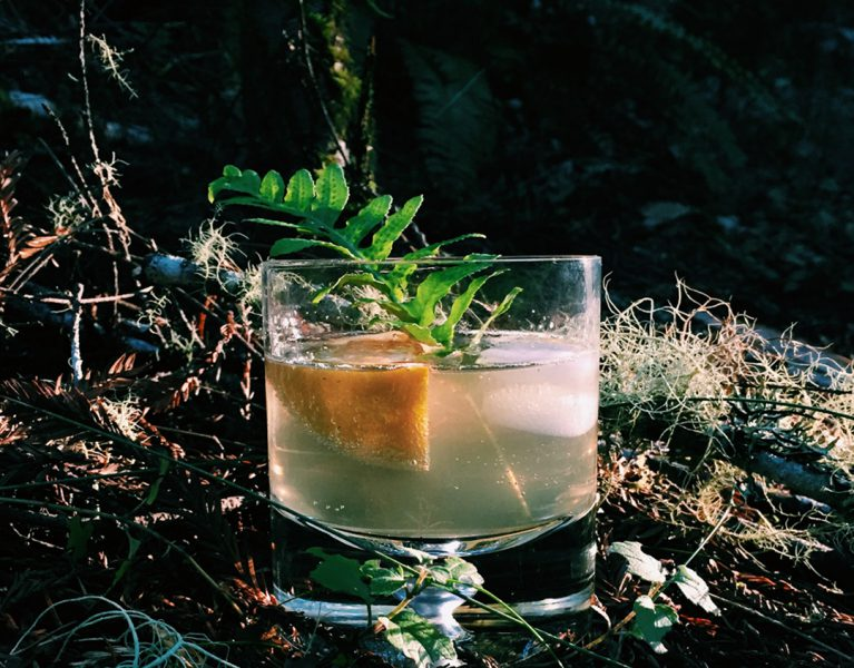 Seedlip Burnt Citrus Spritz by Tasty Decoy