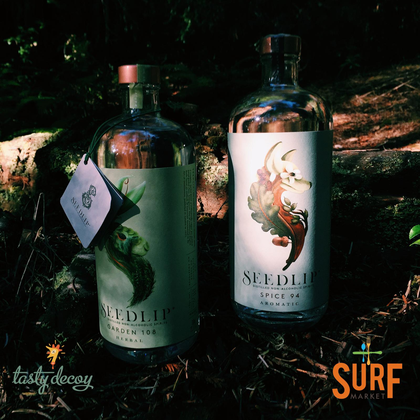 Seedlip's Distilled Non-Alcoholic Spirits