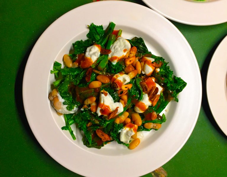 Rapini, Cannellini Beans & Yogurt by Tasty Decoy